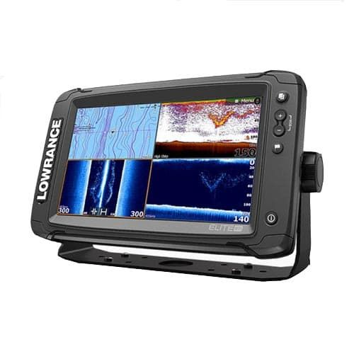 Lowrance Elite-9Ti Mid/High/TotalScan